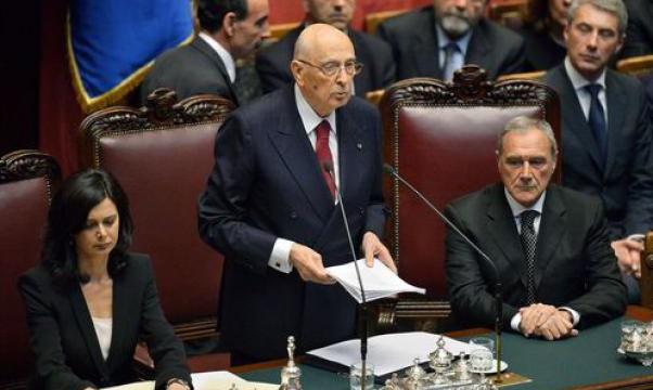 Il discorso d'insediamento di Napolitano (testo e video integrale)