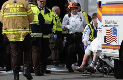 Maratona di Boston soccorsi