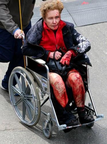 feriti maratona boston