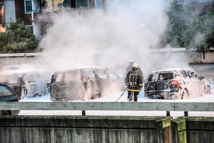 Le notti di Stoccolma I vigili del fuoco