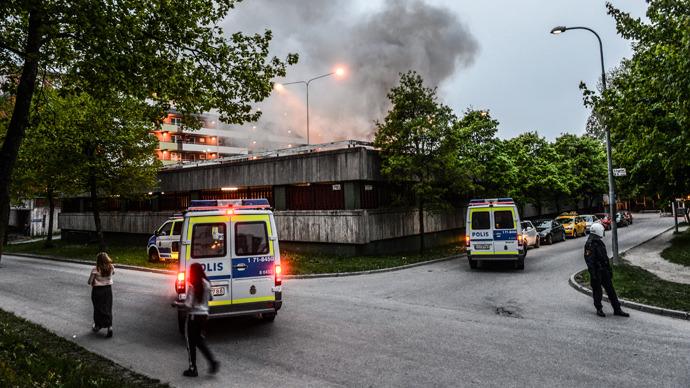 e notti di Stoccolma, i vigili del fuoco