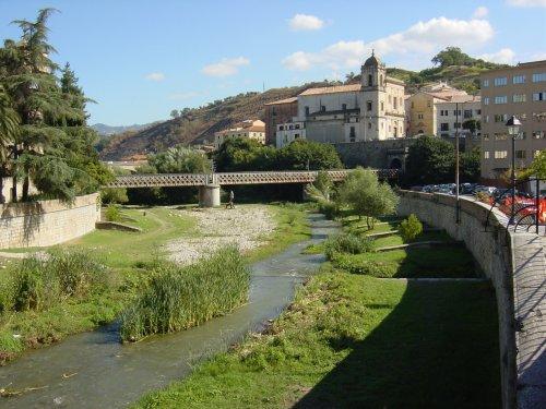 Il fiume Busento a Cosenza