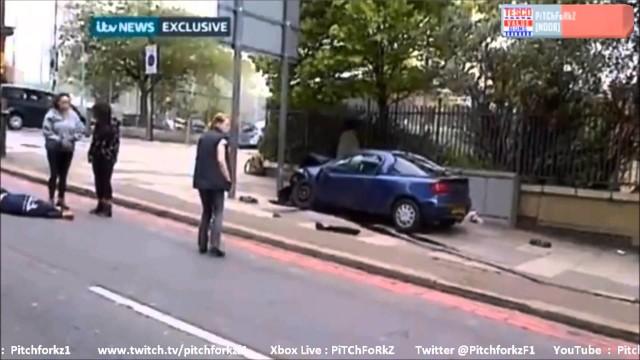 Fanatico musulmano di colore  decapita un soldato, a Woolwich, zona Sud-Est di Londra