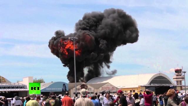 Tragedia all'aerodromo Cuatro Vientos di Madrid