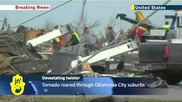 Oklahoma City, si scava fra macerie.Tornado killer: 91 vittime di cui 20 bimbi