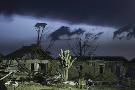 Oklahoma tornado devastazione