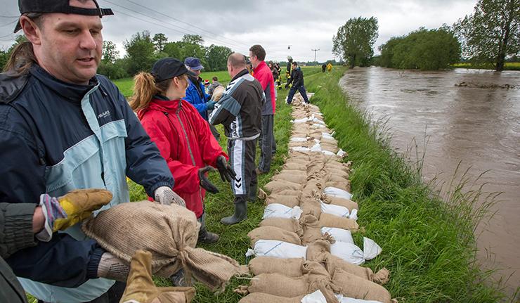 2 giugno 2013 alluvioni in germania austria e for Sabbia di fiume