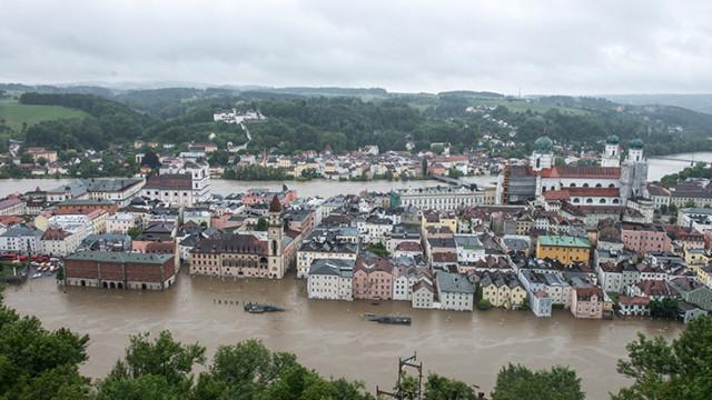 2 GIUGNO 2013 : Alluvioni in Germania, Austria e Repubblica Ceca