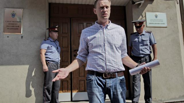 Il blogger Alexei Navalny condannato a 5 anni di carcere per appropriazione indebita