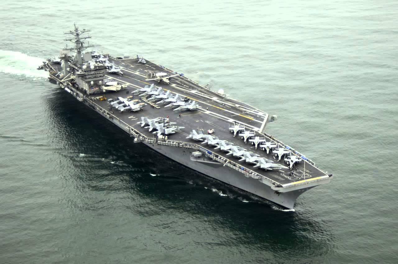Il gruppo navale della portaerei Nimitz viene reindirizzato per contribuire, se necessario  ad un probabile attacco degli Stati Uniti contro la Siria