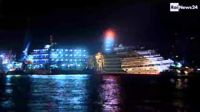 Il raddrizzamento della Costa Concordia in 22 secondi
