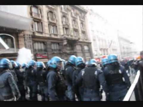 12 Aprile 2014: Roma scontri al corteo anti-austerity
