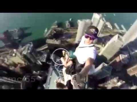 Hong Kong selfie extreme