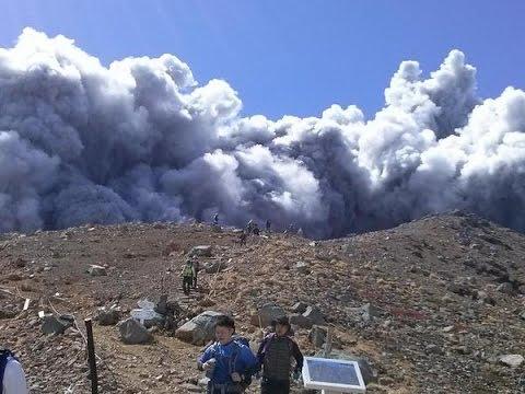L'eruzione del vulcano Ontake in Giappone: il video