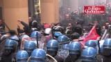 Bologna: centri sociali vs. polizia, per la lectio del governatore di Bankitalia