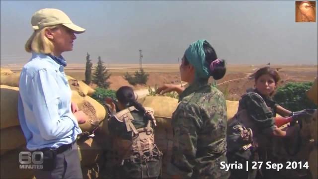 Le donne combattenti curde