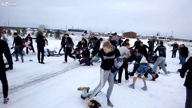 """Fight Club 2014″: Celjabinsk vs Ekaterinburg"