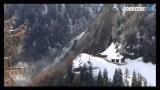 Frana in Val Passiria a pochi metri dalle case