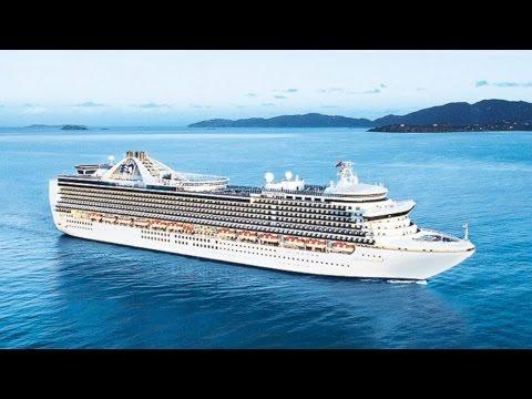 La nave da crociera Crown Princess colpita nuovamente da influenza gastrointestinale