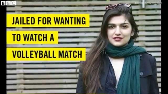 Condannata ad 1 anno per aver tentato di assistere alla partita di volley maschile