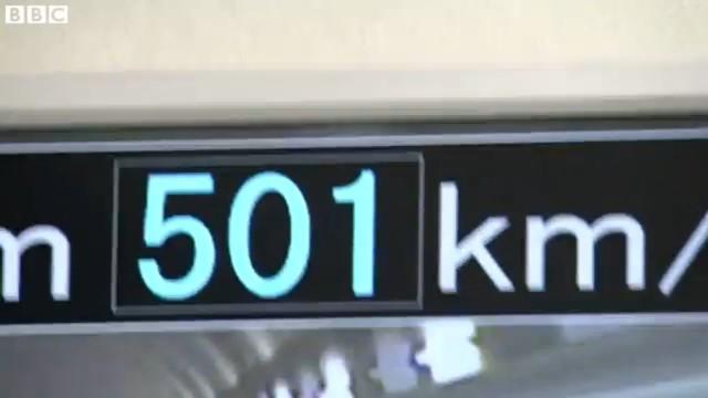 Il treno a levitazione magnetica giapponese che supera i 500 km/h