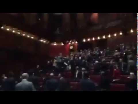 Camera dei Deputati Seduta 375 – La rissa -13 febbraio 2015