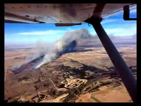 Oklahoma: Woodward County in fiamme
