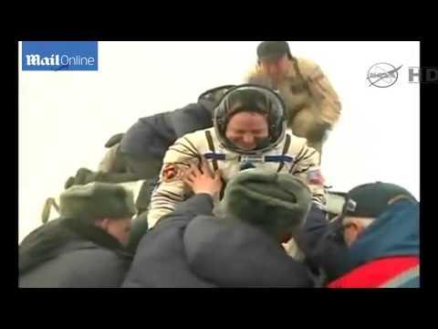 Expedition 42 è rientrata sulla terra con Soyuz TMA-14M