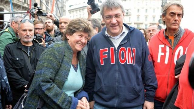 Fiom in piazza contro il Jobs Act con Camusso e Landini – DIRETTA da ROMA