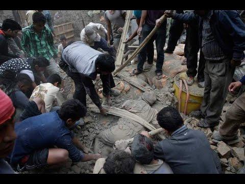 Oltre 3600 morti in Nepal