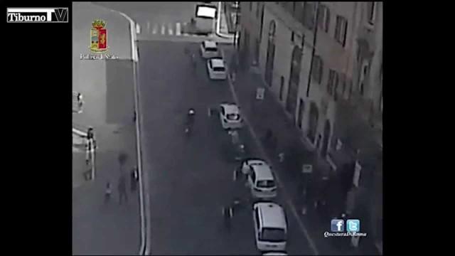 Il tassista aggressore di piazza Barberini