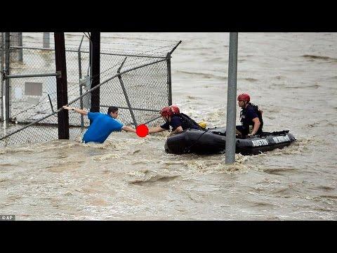 Texas e Oklahoma sott'acqua