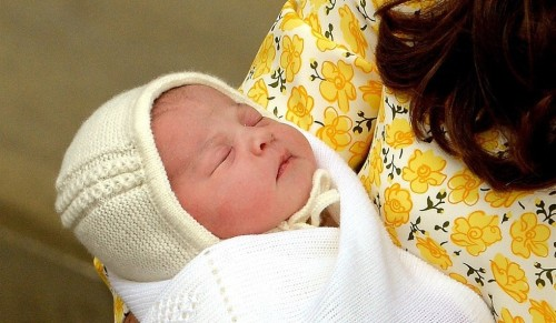 The royal baby girl Charlotte Elizabeth Diana