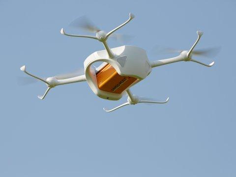 "La Svizzera sperimenta i ""droni-postino"""