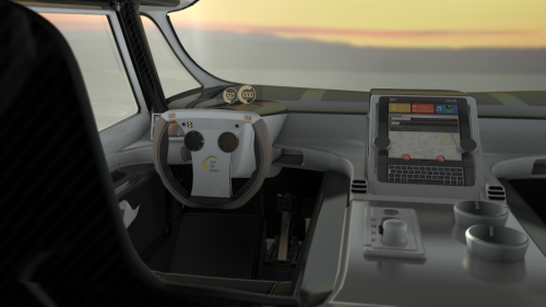 Stella Lux è connessa ad Internet con un sistema di navigazione personalizzato