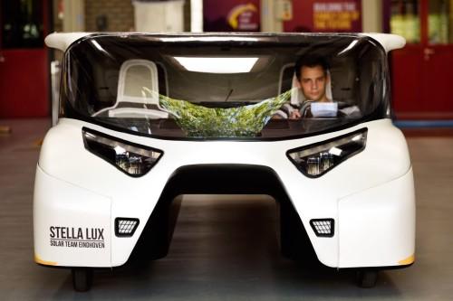 Stellan Lux - La vettura è stata progettata per ridurre la resistenza al vento