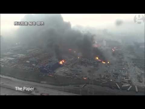 Cina: devastazione a Tianjin