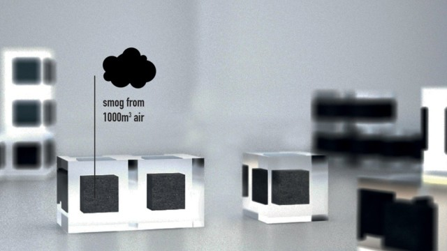 La Smog-Free Tower di Daan Roosegaarde