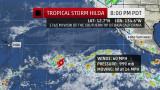 Hilda corre verso le Hawaii