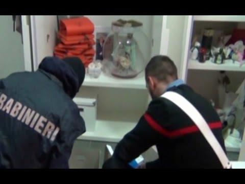"""Caserta: Arrestati gli """"autori"""" del bunker del boss Michele Zagaria"""