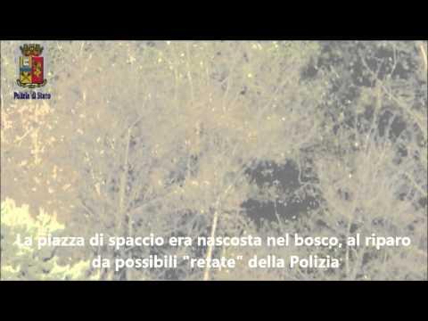 Lecco: Spaccio nei boschi a Civate