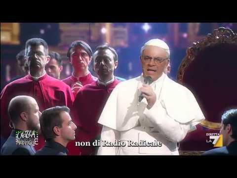 "Crozza: ""I GAY IN THE CHURCH"""