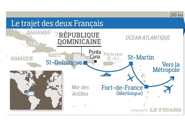 La grande fuga dei 2 piloti francesi condannati a 20 anni a Santo Domingo