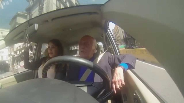 Nonno + traffico + webcam