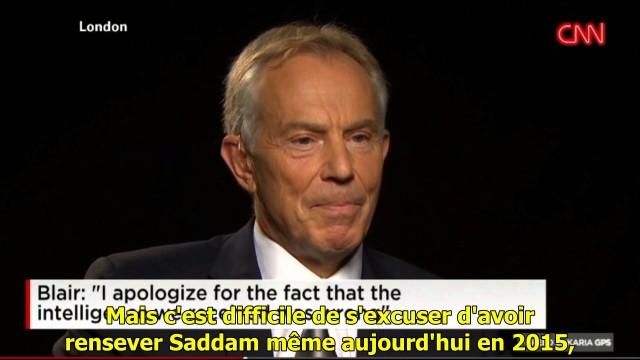 Tony Blair: chiedo scusa, abbiamo sbagliato in IRAQ