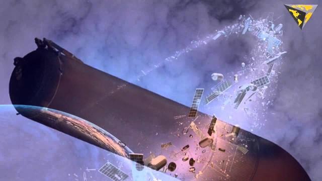 13 novembre: Misteriosi oggetti sono in rotta di collisione con la terra