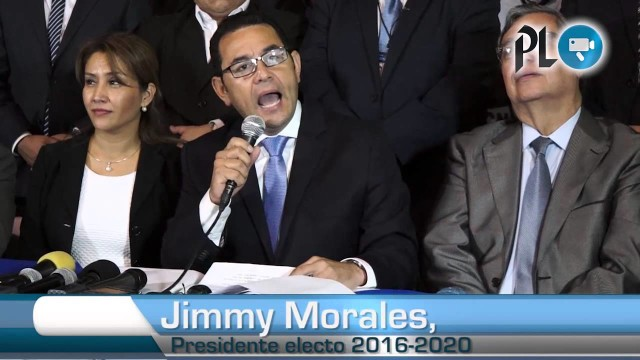PRESIDENZIALI IN GUATEMALA: Vince il comico tv Jimmy Morales