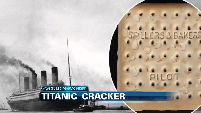 Cracker del Titanic, venduto per quasi 23.000 $ dollari all'asta