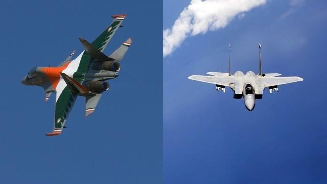 Sukhoi SU – 30 SM versus F15 Strike Eagle