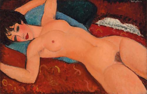 Nu couché di Modigliani